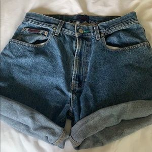 Tommy Hilfiger denim jean shorts